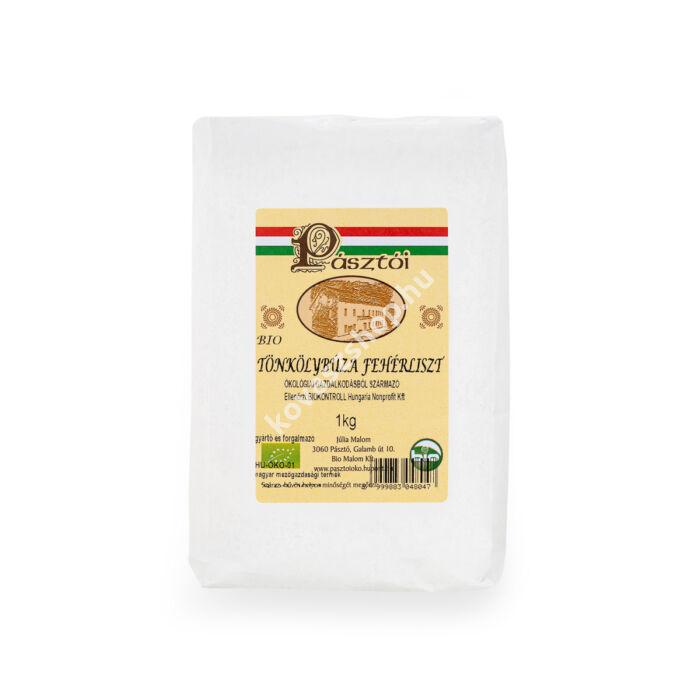 Pásztói bio fehér tönkölyliszt, 1 kg