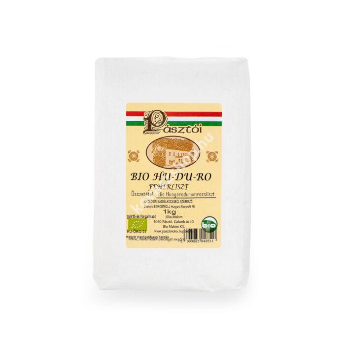 Pásztói bio HU-DU-RO fehérliszt, 1 kg