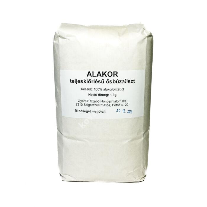 Alakor teljes kiőrlésű ősbúzaliszt, 1 kg